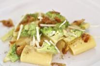 Paccheri alla gricia con broccolo romano